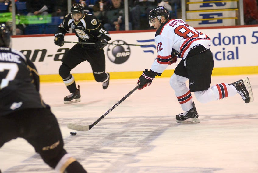 Jesse Sutton is joining the UPEI Panthers this fall after four major junior seasons.
