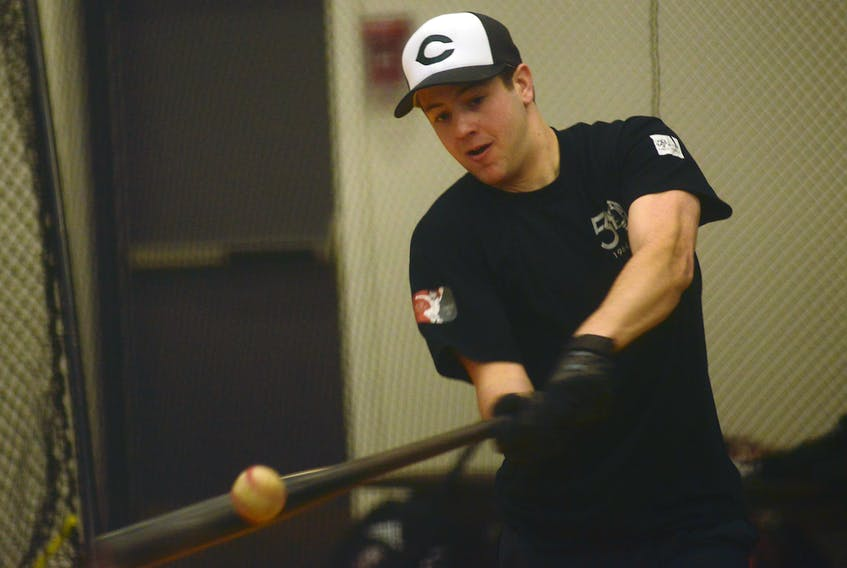 Jonathan Arsenault leads the Charlottetown Gaudet's Auto Body Islanders hitters through the first 12 games of the New Brunswick Senior Baseball League season.