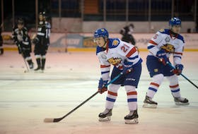 Jordan Spence is in his first season with the Moncton Wildcats of the Quebec Major Junior Hockey League.