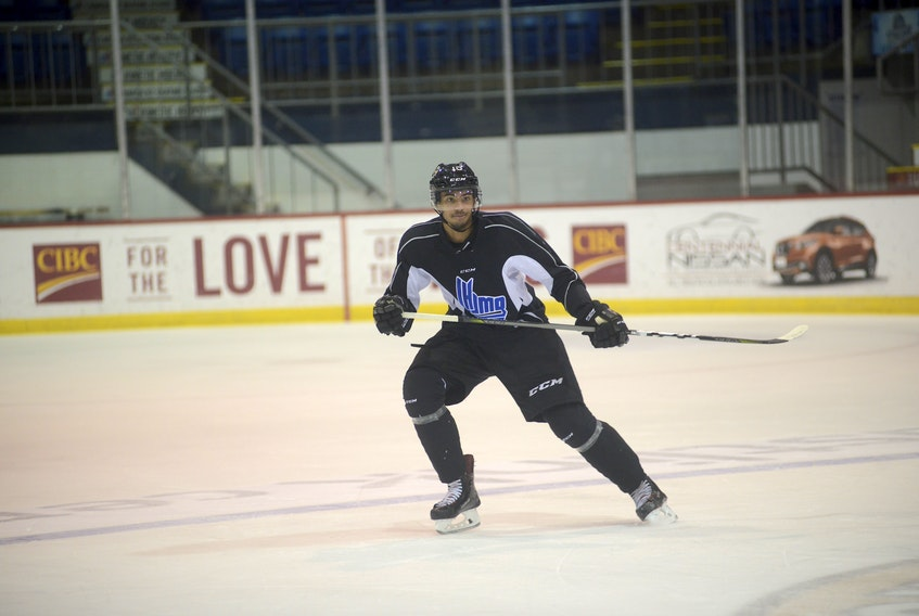 Pierre-Olivier Joseph is in his fourth season with the Charlottetown Islanders.