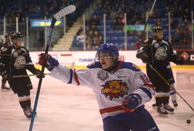 Summerside's Jeremy McKenna and his Moncton Wildcats teammates made their first trip of the 2018-19 Quebec Major Junior Hockey League regular season to Charlottetown to play the Islanders on Nov. 8.