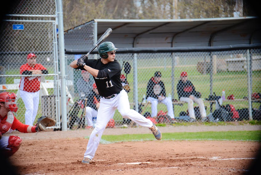 The P.E.I. Junior Islanders hosted the Chatham Ironmen for their first games of the New Brunswick Junior Baseball League regular season Sunday at Memorial Field.