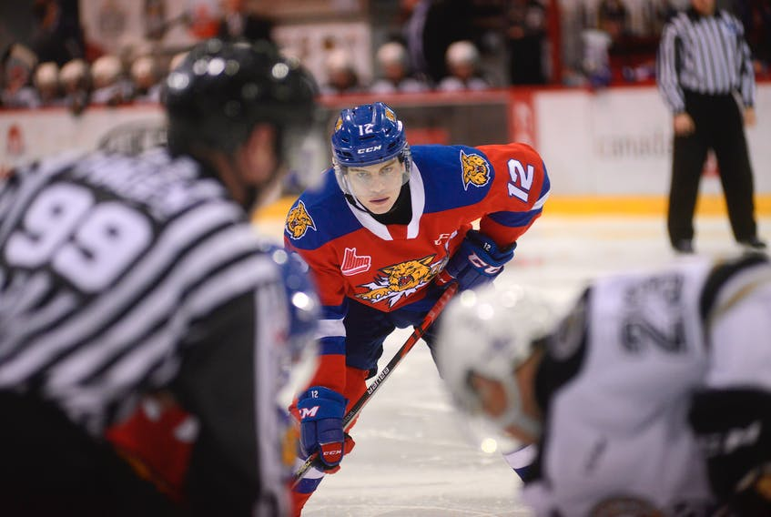 Summerside native Jeremy McKenna is in his final season of junior hockey with the Moncton Wildcats.