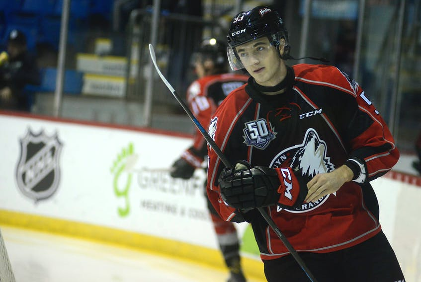 Summerside native Noah Dobson is a defenceman with the Rouyn-Noranda Huskies of the Quebec Major Junior Hockey League.