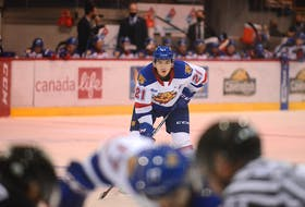 Cornwall's Jordan Spence is in his third season with the Quebec Major Junior Hockey League's Moncton Wildcats.