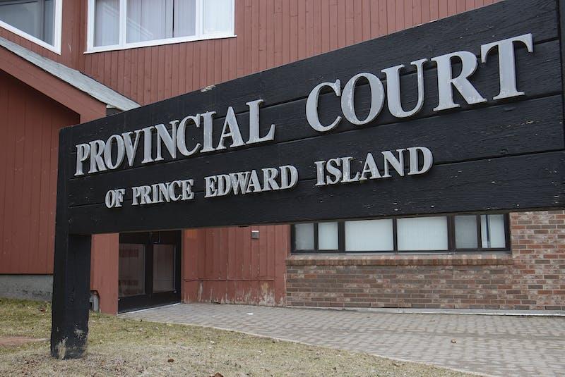 P.E.I. provincial court in Charlottetown. - Jason Malloy