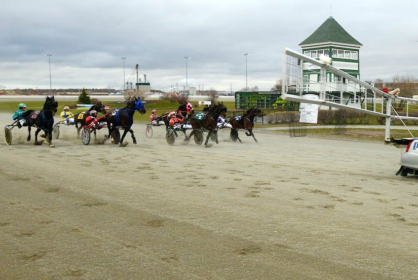 The gates swung open for the first race of the season Saturday at Red Shores at the Charlottetown Driving Park.