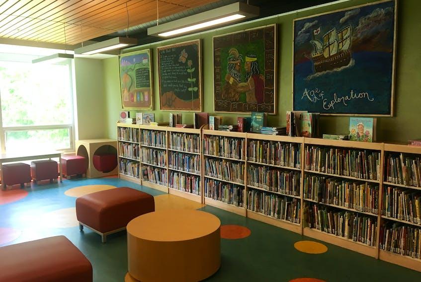 margaret Hennigar library in Bridgewater for Demont Column