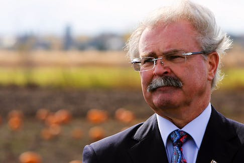 Former agriculture minister Gerry Ritz in a file photo, tweeted that the $13 billion Quebec has received may have been a reason for its recent economic prosperity.