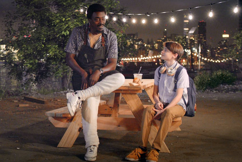 Seu Jorge is Chef Chico, culinary mentor to Noah Schnapp's title character in Abe.