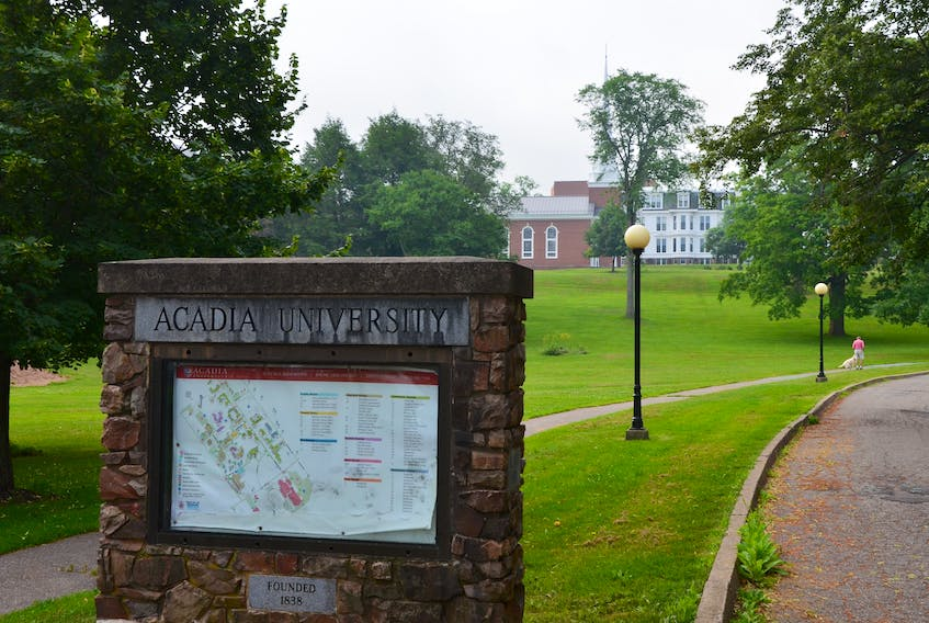 Acadia University's fall semester will begin on Sept. 21, allowing time for a staggered move-in, quarantines and orientation programming. KIRK STARRATT