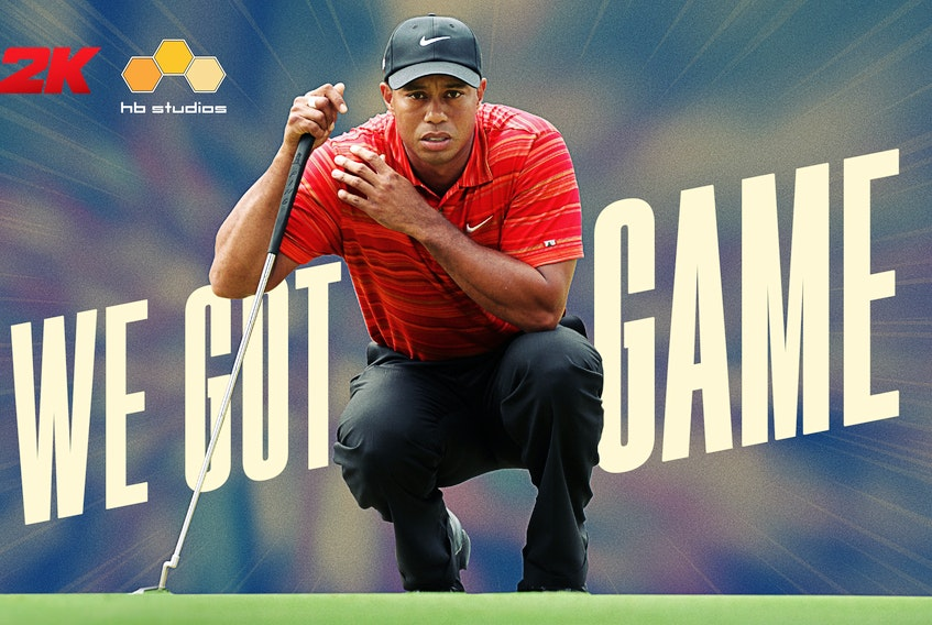 HB Studios and 2K have spent three years collaborating on two PGA-branded golf games, and star player Tiger Woods just inked a deal to appear in future installments.