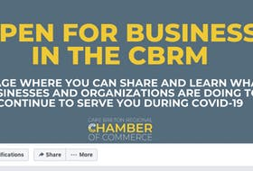 The Cape Breton Regional Chamber of Commerce has turned to a virtual world these days to get member messages and general information out to the public.  CONTRIBUTED