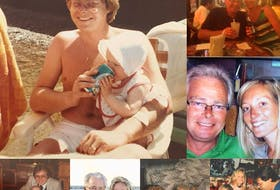 A photo collage of special moments shared between Alanna Jenkins and her Dad Dan Jenkins. The collage is posted among Alanna's Facebook photos.