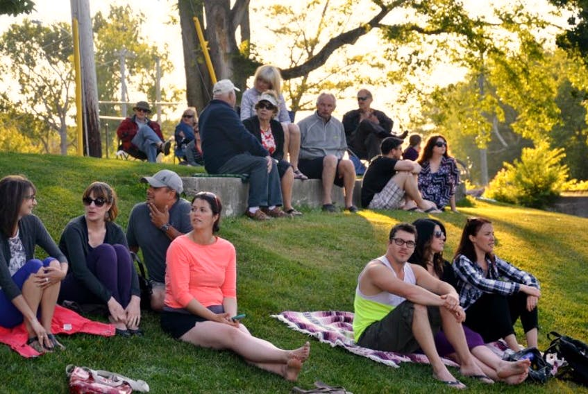 People of all ages showed up for 2016 Thursday evening Makin' Waves concerts in Wentworth Park.
