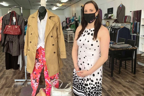 Shawna Perry in her Summerside clothing store, The Little Black Co., is home to Perry's idea for the LGBTQS+ fashion show.