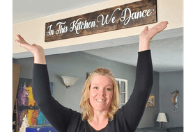 Sitting in her kitchen in Rocklin, Pictou County, a year ago, Heather Cameron Thomson says COVID seemed overwhelming. That's when she had the idea of giving people a way to connect through music with the Ultimate Online Nova Scotia Kitchen Party, which is still going strong a year later.
