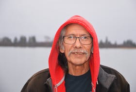 """""""No matter who comes to you they have a gift,"""" said Clark Paul, cultural support worker for residential school survivors. OSCAR BAKER III • CAPE BRETON POST"""