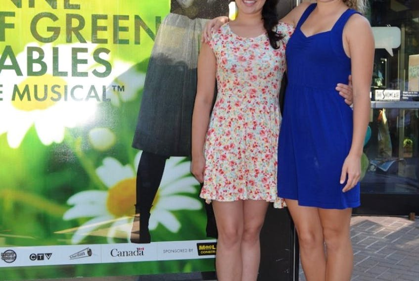 Katie Kerr, left, and Jessica Gallant are thrilled to be part of Anne of Green Gables - The Musical, an important tradition at the Charlottetown Festival. Now in its 50th season, the show continues until Sept. 24.