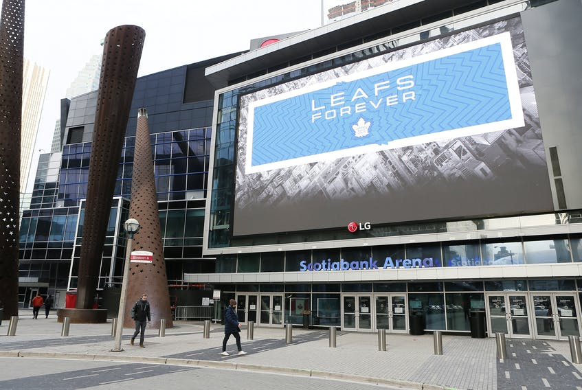 Scotiabank Arena will be one of the sites for the NHL restart.