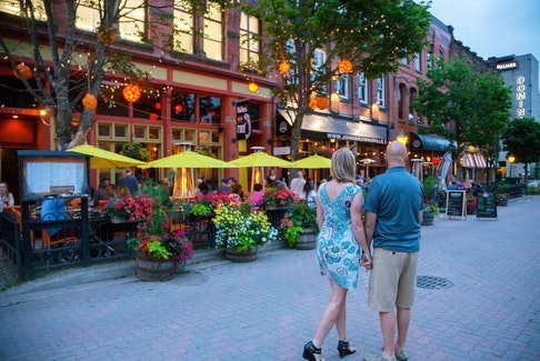 Charlottetown has more than 35 patios you can walk to, and live entertainment is filling the city with music once again. - Photo Courtesy Tourism PEI/Stephen Harris.