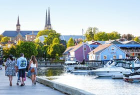 While many Charlottetown residents enjoy the excitement that comes with the summer's tourist season, they're taking this time to appreciate a quieter pace and explore their city through a visitor's eyes. - Photo Courtesy Tourism PEI/Emily O'Brien
