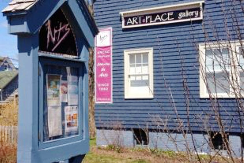 ['ARTsPLACE in Annapolis Royal.']