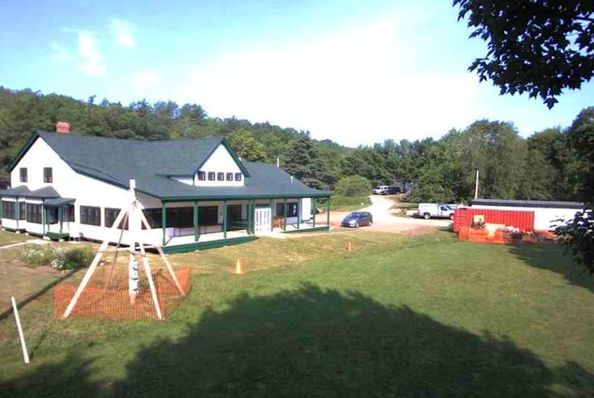 Nova Scotia Webcams has been giving the world a peek at the reconstruction of Milford House. The rebuilt lodge was celebrated July 11 in South Milford. http://www.novascotiawebcams.com/en/webcams/milford-house/