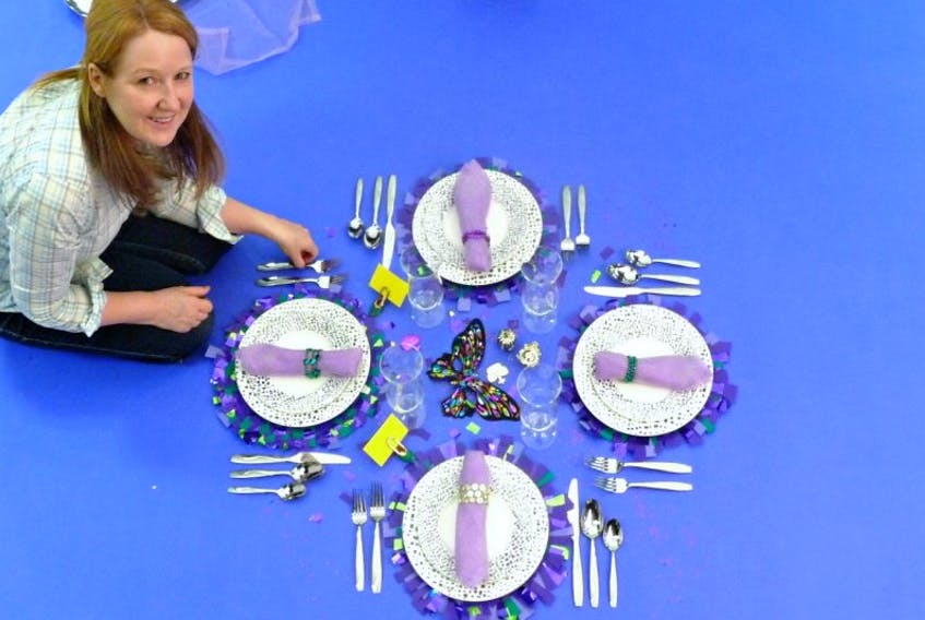 The art of Table Setting with designer Monica Forrestall August 20 at Mrs. Nicholson Home at 3 p.m. at 212 St. George Street in Annapolis Royal.