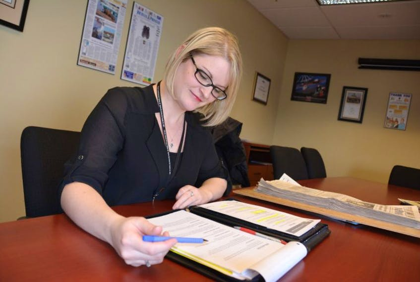 Ashley Clarke, a regional outreach partnership officer with the Canada Revenue Agency, recently highlighted some new aspects of this year's tax season for Journal Pioneer readers. Colin MacLean/Journal Pioneer