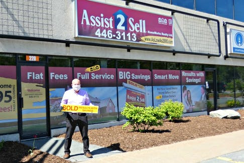 """Michael Doyle, co-owner of Assist-2-Sell, HomeWorks Realty Ltd. in Dartmouth, says Halifax's """"exploding"""" real estate market needs more inventory, so now is a smart time to list your home. - Photo Contributed."""