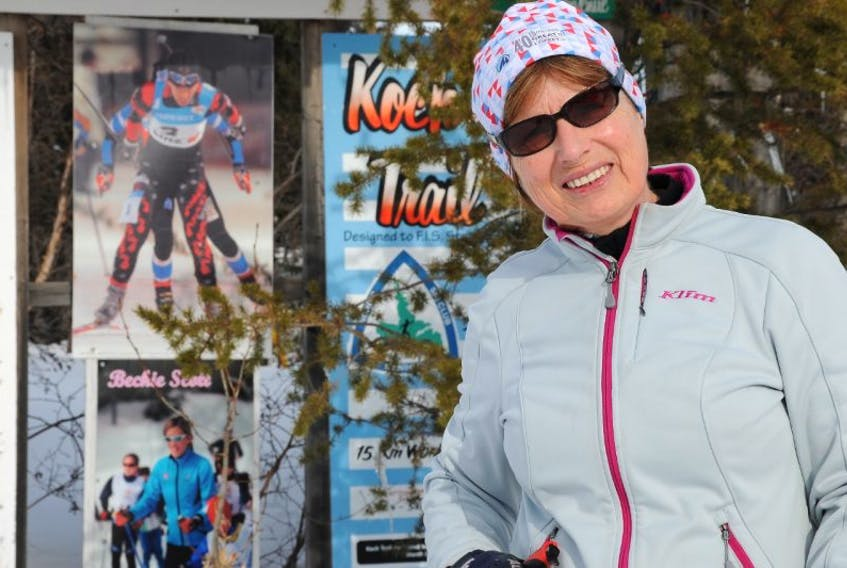 Irene Rice of Labrador City is in Klosters, Switzerland to participate In the World Masters cross-country ski championships.