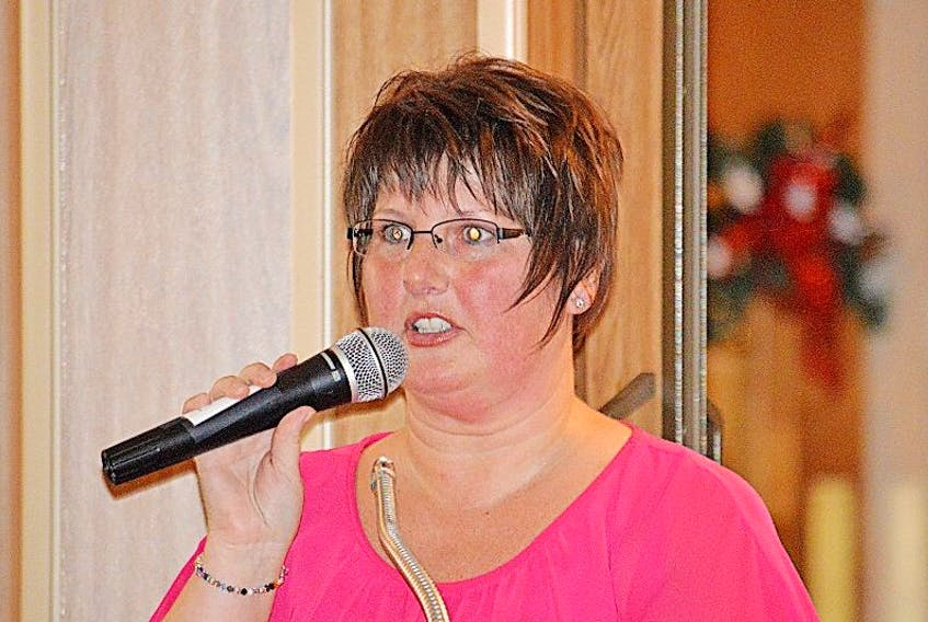 Sandra Jacobs, a breast cancer survivor, was a guest speaker at the Gala. She spoke about how Daffodil Place helped her when she had to travel to St. John's for medical appointments.