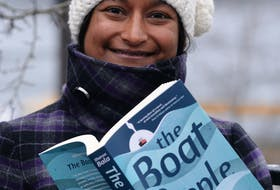 """Sharon Bala, author of """"The Boat People,"""" has won the 2020 Newfoundland and Labrador Book Award for fiction, a press release from the Writers' Alliance of Newfoundland and Labrador said. - SaltWire file photo"""
