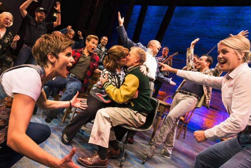 The cast of Broadway Across Canada's Come From Away. — Postmedia News/Mark Murphy