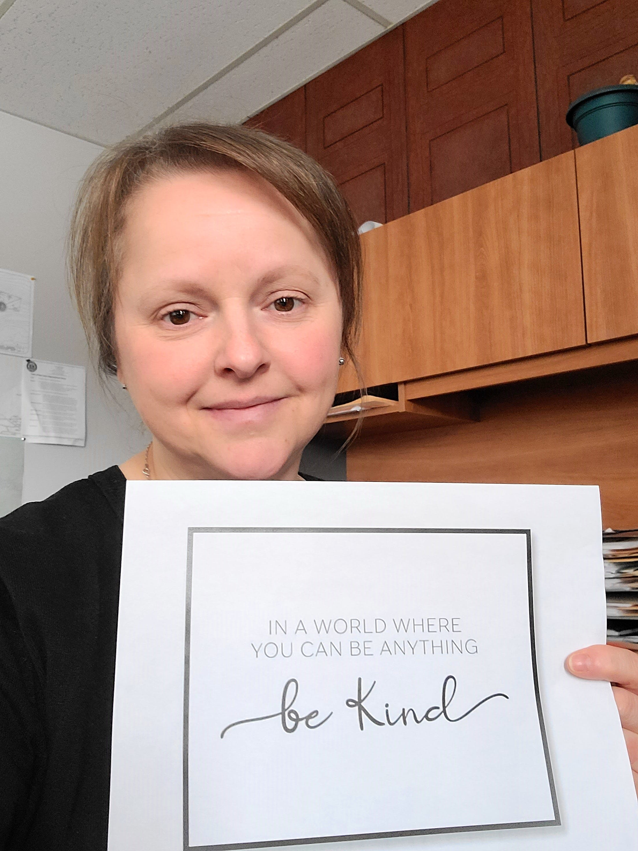 The Town of Baie Verte is holding Random Acts of Kindness Week and is encouraging residents to be kind to each other. Baie Verte chief administrative officer Amanda Humby says a simple gesture can go a long way with someone. Contributed photo