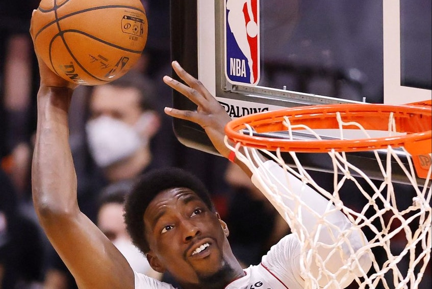Bam Adebayo of the Miami Heat.