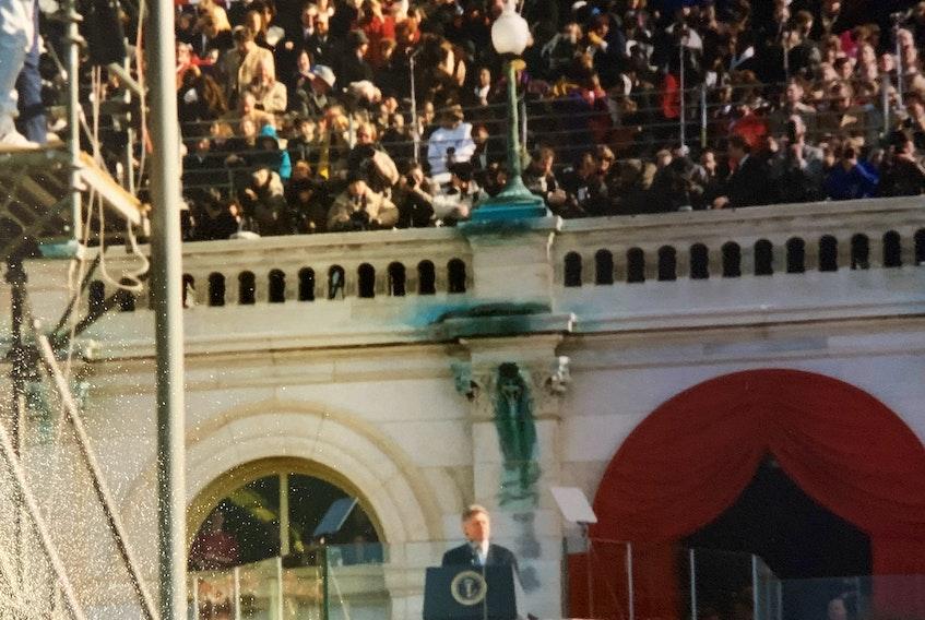 Inauguration Day at the U.S. Capitol, Jan. 20, 1993. BARB SWEET/THE TELEGRAM