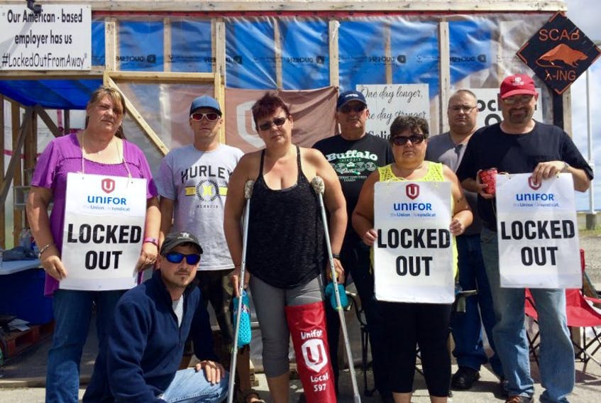 Although the Beacon could not confirm that Unifor Local 597, the union representing workers at DJ Composites in Gander, was planning a hunger strike, many of the picketers supported the idea.