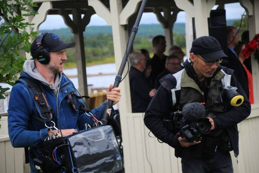 Filming is currently underway for a full-length feature documentary about the people of central Newfoundland who cared for nearly 7,000 stranded passengers following the 9-11-2001 terrorist attacks in the United States.