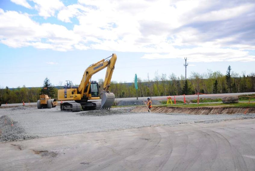 Upgrades are currently taking place at the Magee Road-TCH intersection.