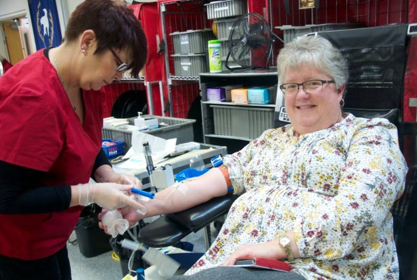 For the past 34 years Sandy Cove resident Lisa Napier has been donating blood.