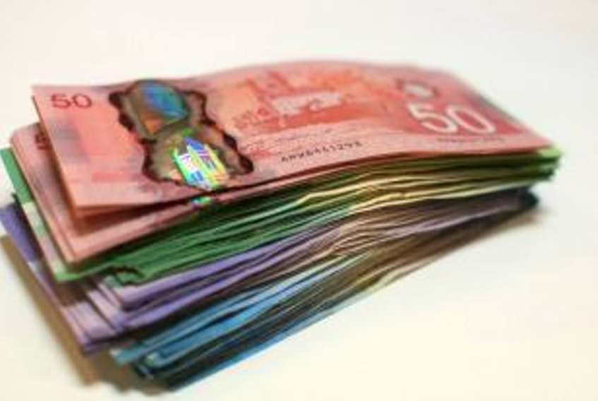 A considerable amount of money was found near the Royal Bank in Stellarton. NOTE: Picture is a stock photo and not of the actual money found.