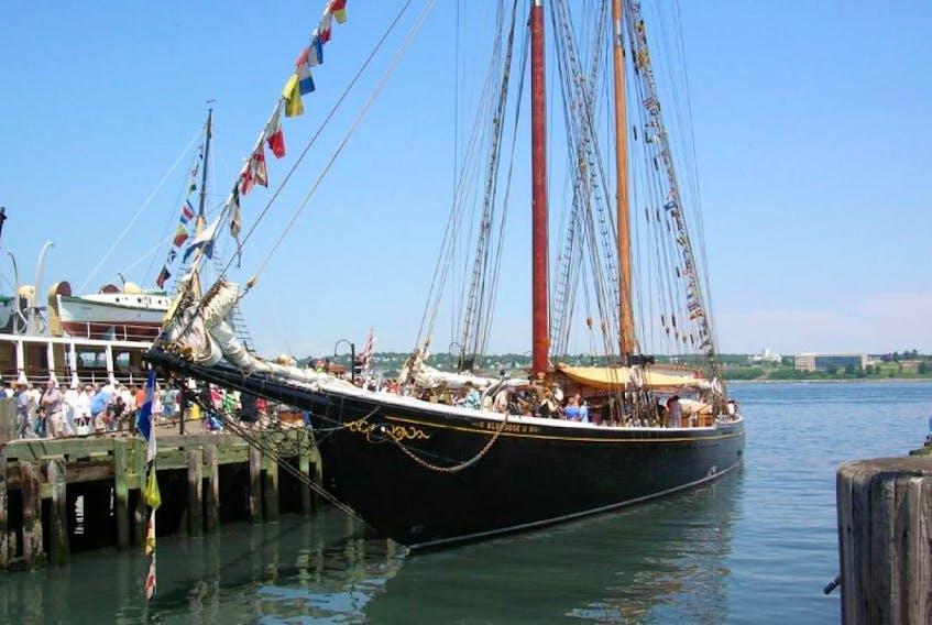 Bluenose II at dock in Halifax