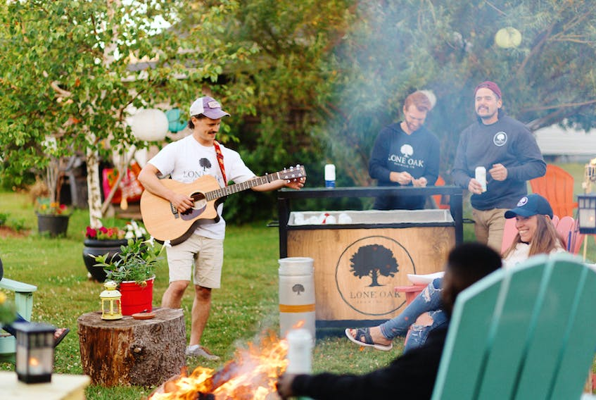 Lone Oak Brewing Co. has teamed up with musician Lawrence Maxwell to create a classic P.E.I. campfire-style event for one lucky Islander and their closes friend.
