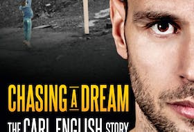 """""""Chasing a Dream: The Carl English Story"""", published by Flanker Press. CONTRIBUTED"""