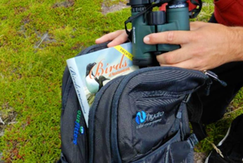 The same way you borrow a book from the library, you can now borrow a backpack filled with everything you need to get started with birdwatching. -CONTRIBUTED