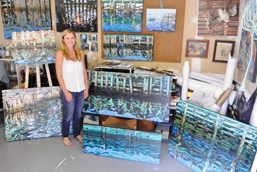 Brianne Williams of Coldbrook will have a solo exhibition this month at Argyle Fine Art in Halifax.