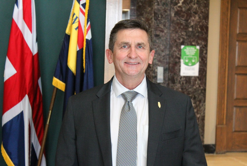 Minister of Environment, Climate Change and Municipalities Derek Bennett. -DAVID MAHER/THE TELEGRAM FILE PHOTO