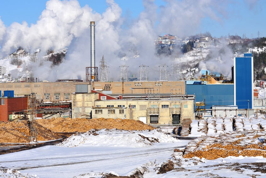 Corner Brook Pulp and Paper in Corner Brook will continue to produce paper during the COVID-19 pandemic.
